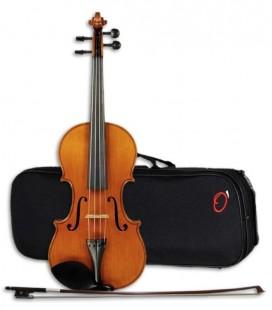 Violin Heritage Fir Maple Handmade HV 4/4 Bow YVC 35 Case Ortolá