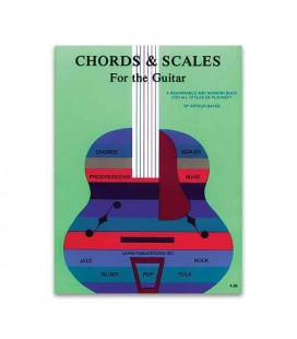 Music Sales Book Chords and Scales for the Guitar AS10446