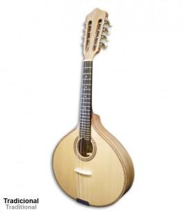 Artimúsica Mandolin 40440 Guitar Simple with Machine Heads