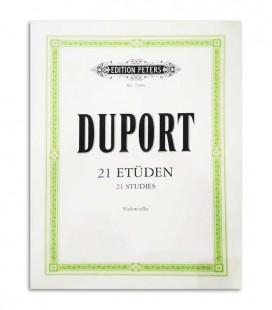Duport 21 Et端den for Violoncello Peters