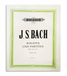 Three Sonatas and Partitas for Solo Violin BWV 1001 1006 Peters