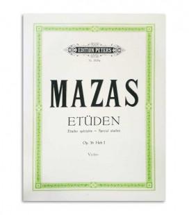 Mazas Etuden Violin Opus 36 Vol 1 Peters