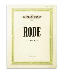 Rode 24 Capricen for Violin Peters