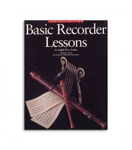Music Sales Book Basic Recorder Lessons AM934406