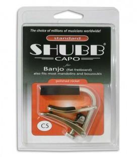 Capo Shubb C5 for American Banjo