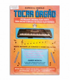 Eurico Cebolo Tocar �rg達o with CD T ORG