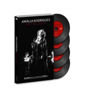 Book Sevenmuses Am叩lia Rodrigues - Antologia with CD