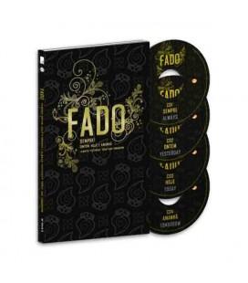 Sevenmuses Book Fado Sempre Ontem Hoje e Amanh達 with 4 CDs