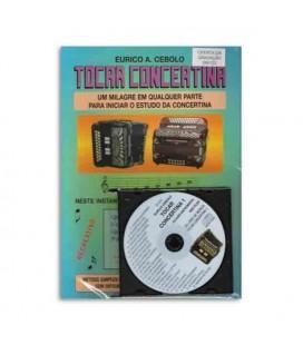 Eurico Cebolo M辿todo M叩gico Tocar Concertina 1 with CD