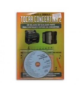 Eurico Cebolo M辿todo M叩gico Tocar Concertina 2 with CD
