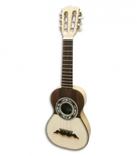 Cavaquinho Artimúsica 11124 6 Strings Round Soundhole Half Tops Half Luxe