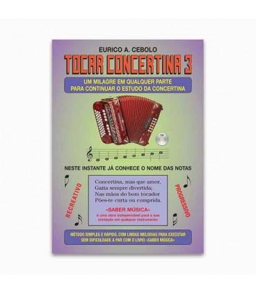 Eurico Cebolo M辿todo M叩gico Tocar Concertina 3 with CD KIT ACM 1