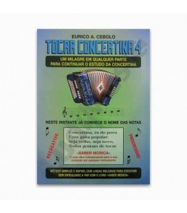 Eurico Cebolo M辿todo M叩gico Tocar Concertina 4 with CD T Concertina 4