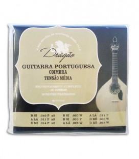 String Set Drag達o 005 Guitarra Portuguesa Coimbra Tuning Medium Tension