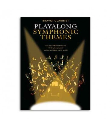 Bravo Symphonic Themes Clarinet Book CD AM990616