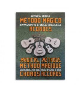 Eurico Cebolo Book Método Cavaquinho e Viola Braguesa Acordes CAV