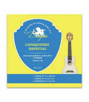 Drag達o Special 4 Strings Cavaquinho String Set 062