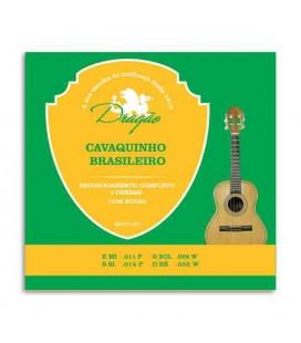 Dragão Brazilian 4 Strings Cavaquinho String Set 058