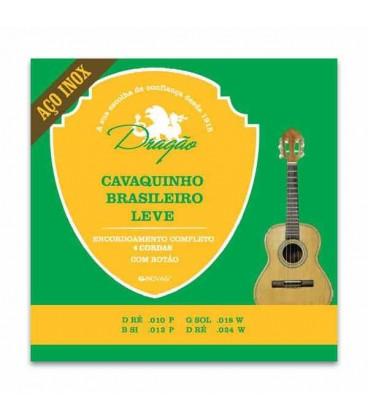 Drag達o Brazilian Cavaquinho String Set 083 Light Inox Steel