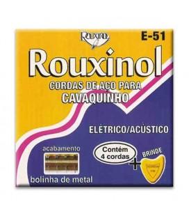 Rouxinol Brazilian Cavaquinho String Set E51