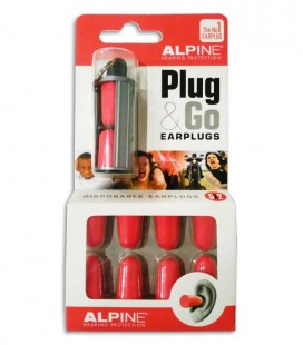 Photo of the package with the ear protector Alpine for Ears  Party Plug