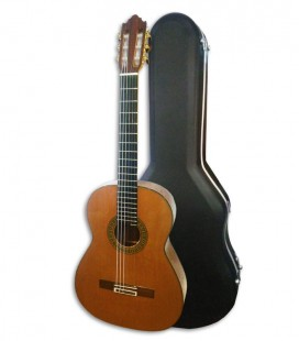 Luthier Vicente Carrillo Concert Classical Guitar Primera Especial Cedar and Rosewood with Case