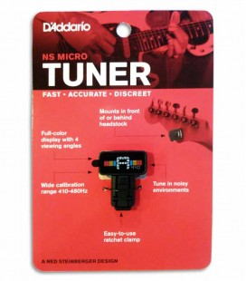 Tuner Daddário PW CT 12 Micro Clip Tuner