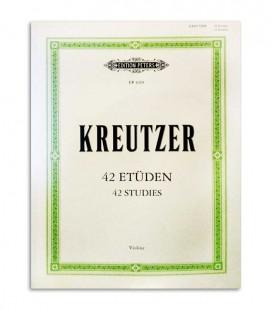 Kreutzer 42 Studies for Violin Peters