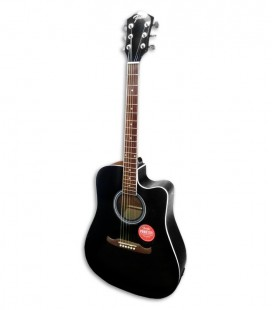Fender Electroacoustic Guitar FA 125CE Dreadnought Black