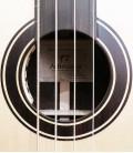 Acoustic Bass Guitar Deluxe Artim炭sica 33133 rosette