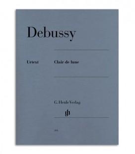 Book Debussy Clair de Lune HN391