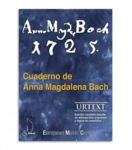 Book Caderno Anna Magdalena Bach EMC341252