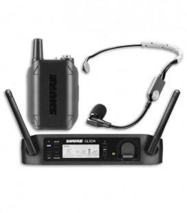 Microphone Shure Wiresless System Headset GLXD14E SM35 Z2