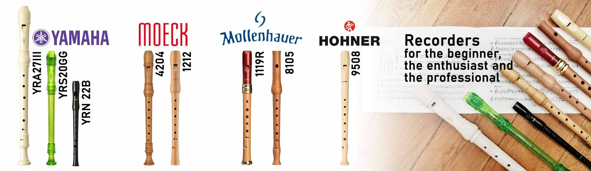 Recorders - For the beginner, the enthusiast and the professional
