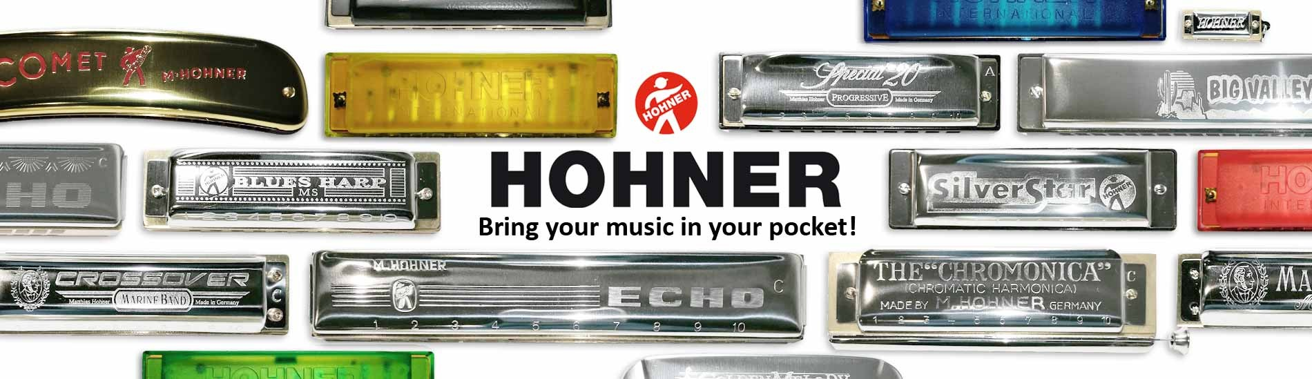 Hohner Harmonicas - Bring your music in your pocket!