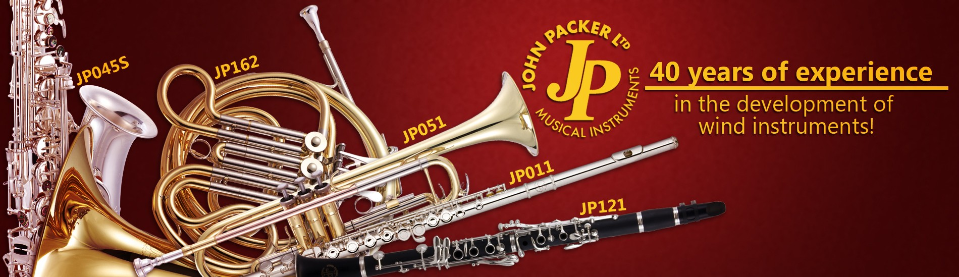 John Packer 40 years of experience in the development of wind instruments!
